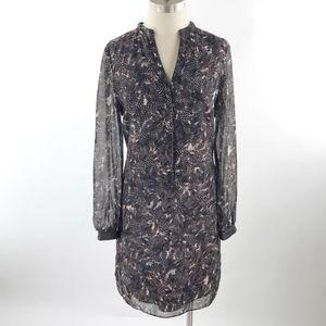 Ann Taylor Women's Long Sleeve Shift Dress